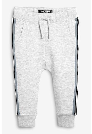 NEXT Pantaloni sport cu dunga laterala si snur Baieti
