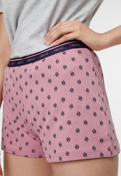 NEXT Pijama cu pantaloni scurti si model cu buline Femei