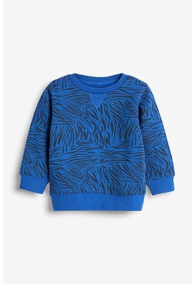 NEXT Set de pantaloni sport si bluza sport cu imprimeu zebra Baieti