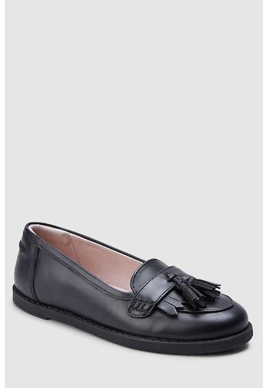 NEXT Pantofi loafer de piele Fete