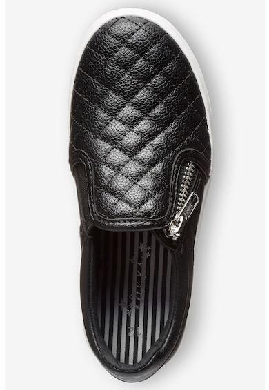 NEXT Pantofi slip-on cu aspect matlasat Fete
