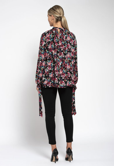 Maiocci Bluza cu model floral Femei