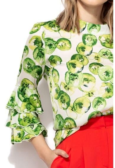 Maiocci Bluza cu mansete stratificate Femei