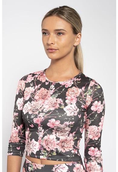 Maiocci Set de fusta cu model floral si bluza Femei