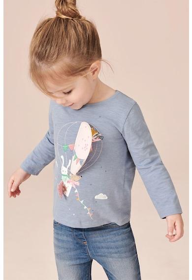 NEXT Bluza cu aplicatii decorative Fete