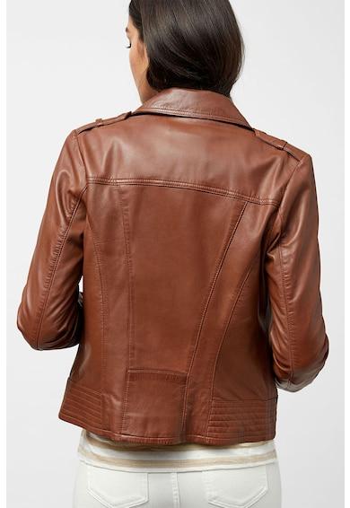 NEXT Jacheta de piele cu fermoar asimetric Femei
