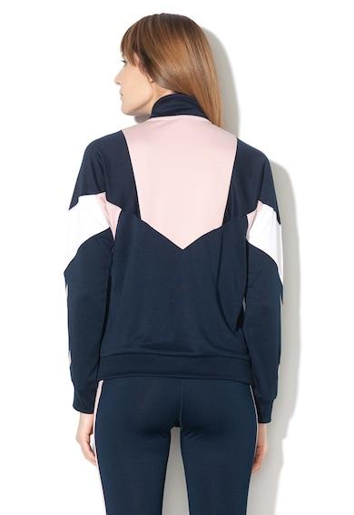 Hummel Блуза Chi с къс цип и цветен блок Жени