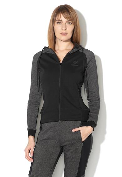 Hummel Jemma cipzáros kapucnis pulóver oldalzsebekkel női