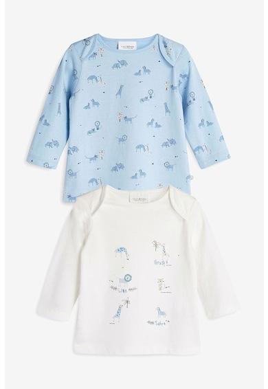 NEXT Set de bluze de bumbac cu imprimeu - 2 piese Baieti