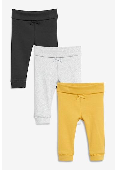 NEXT Set de pantaloni sport cu snur - 3 perechi Fete
