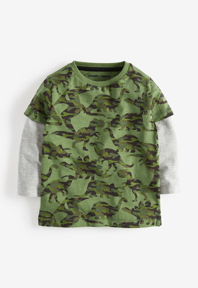 NEXT Set de bluze cu imprimeu - 3 piese Baieti