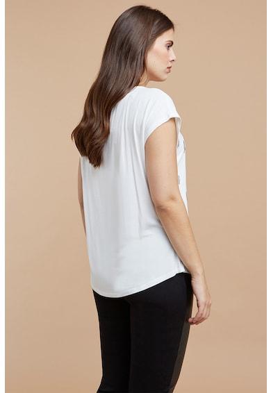Fiorella Rubino Tricou cu imprimeu si strasuri Femei