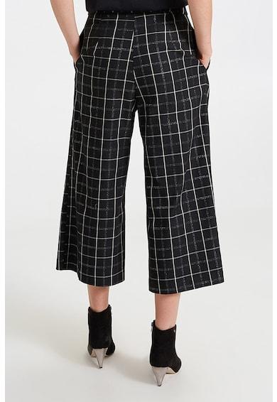 Motivi Pantaloni culotte cu model tartan Femei