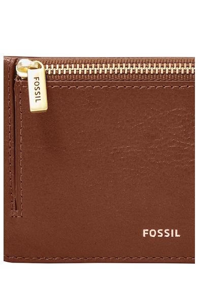 Fossil Кожен калъф за карти Logan Жени