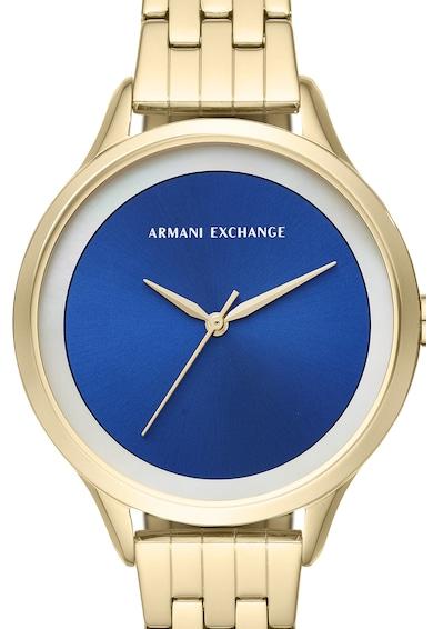 ARMANI EXCHANGE Кварцов часовник от инокс Жени