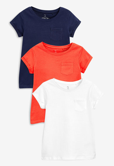 NEXT Set de tricouri, 3 piese Fete