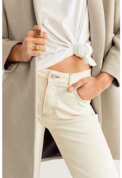 Mango Palton cu aspect texturat Gala Femei