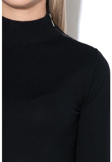 Big Star Pulover din tricot fin cu fermoar Calliope Femei
