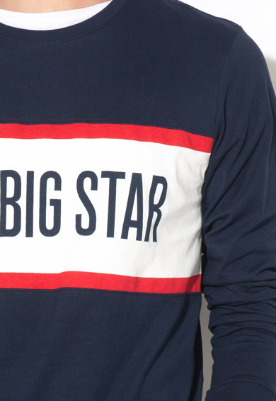 Big Star Bluza cu imprimeu logo Noa Barbati
