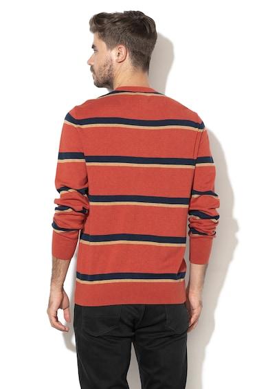GAP Pulover din tricot fin, in dungi Barbati