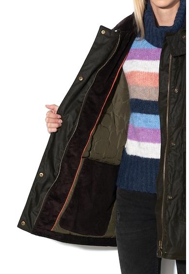 Pepe Jeans London Jacheta parka cu vatelina si aspect peliculizat Dua Lipa x Pepe Jeans Corina Femei