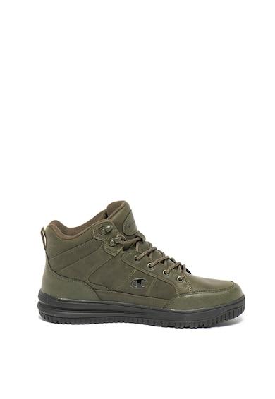 Champion Pantofi sport mid-high de piele ecologica Baho Barbati