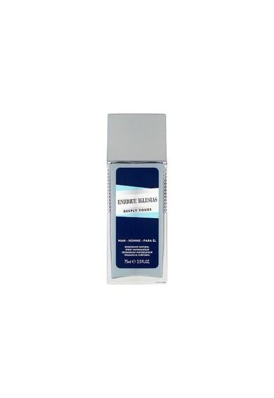 Enrique Iglesias Deodorant Natural Spray  Deeply Yours, Barbati, 75 ml Barbati