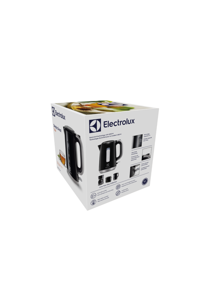 Electrolux Fierbator  , 2200 W, 1.7 l, Negru/Argintiu Femei