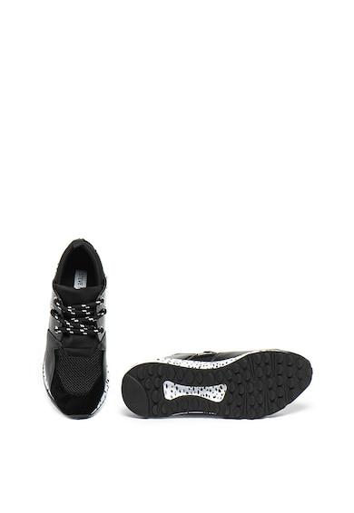 Steve Madden Pantofi sport cu garnituri de piele intoarsa Cliff Femei