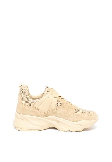 Steve Madden Pantofi sport de piele intoarsa cu insertii de plasa Movement Femei