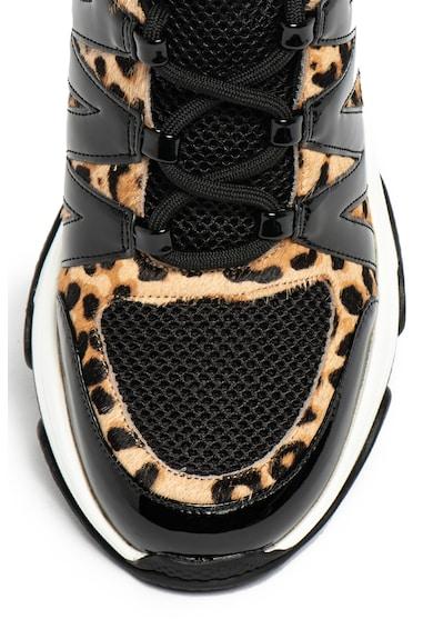 Steve Madden Спортни обувки Maximus с кожа с косъм Жени