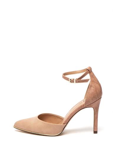 Call It Spring Pantofi d'Orsay cu bareta pe glezna si model piele de reptila Iconiss Femei