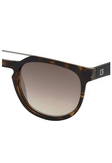 Guess Квадратни слънчеви очила с шарка Мъже