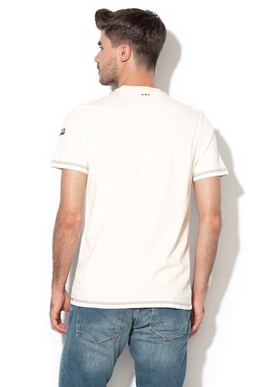 Napapijri Памучна тениска Sardara с лого Мъже