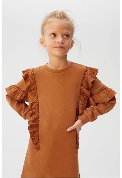 Mango Rochie tip bluza sport cu garnituri cu volane Mili Fete