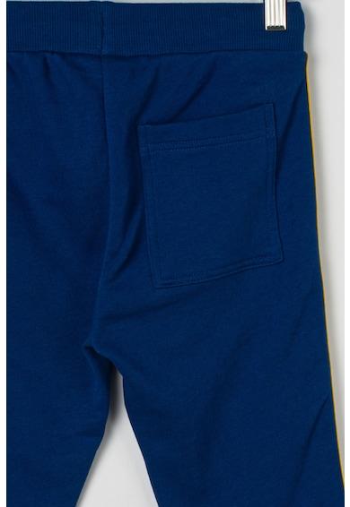 United Colors of Benetton Pantaloni sport de bumbac, cu snur Baieti