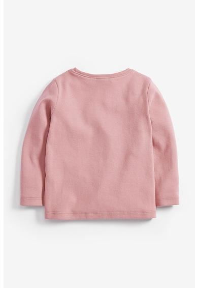 NEXT Bluza cu detalii brodate Fete