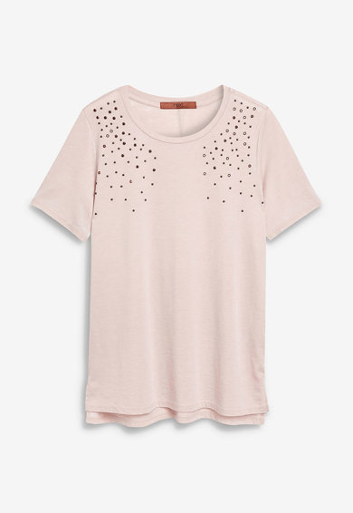NEXT Tricou decorat cu strasuri Femei