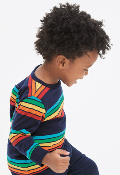 NEXT Bluza cu maneci lungi si model cu dungi Baieti