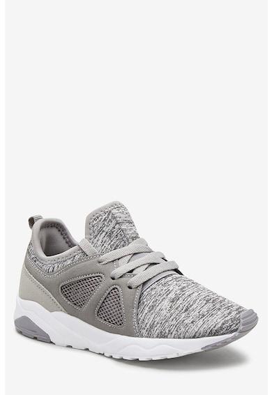 NEXT Pantofi sport slip on cu insertii de plasa Fete