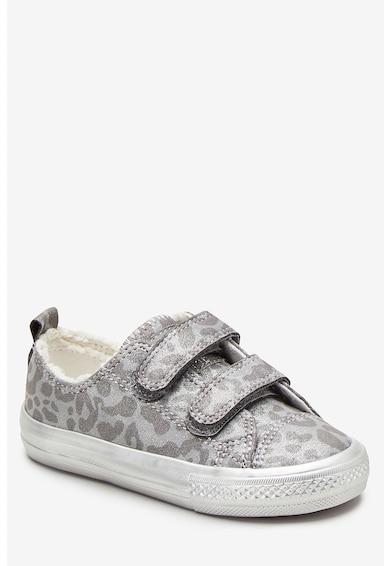 NEXT Pantofi sport cu animal print si aspect stralucitor Fete