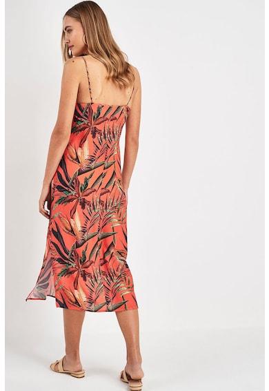 NEXT Rochie midi cu model tropical Femei