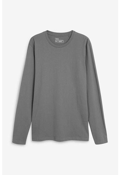 NEXT Bluza slim fit cu decolteu la baza gatului Barbati