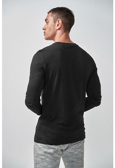 NEXT Bluza slim fit din bumbac Barbati