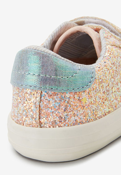 NEXT Pantofi sport cu velcro si aplicatii stralucitoare Fete