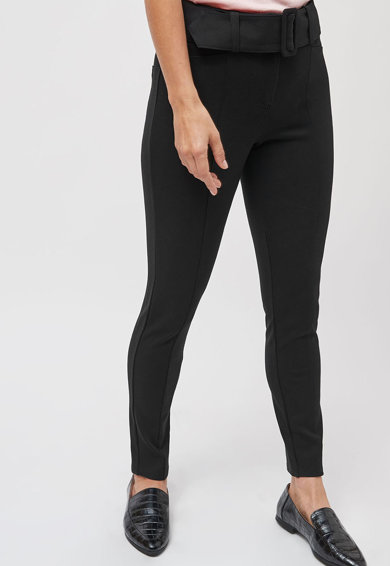 NEXT Pantaloni skinny cu o curea Femei