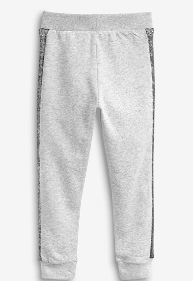 NEXT Pantaloni sport cu aplicatii laterale de paiete Fete