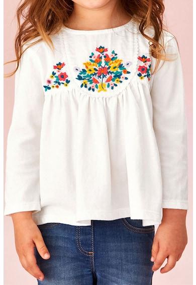 NEXT Bluza cu broderii cu model floral Fete