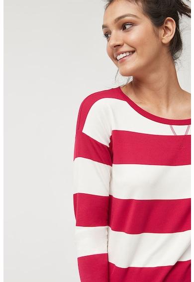 NEXT Bluza cu dungi si detaliu funda Femei