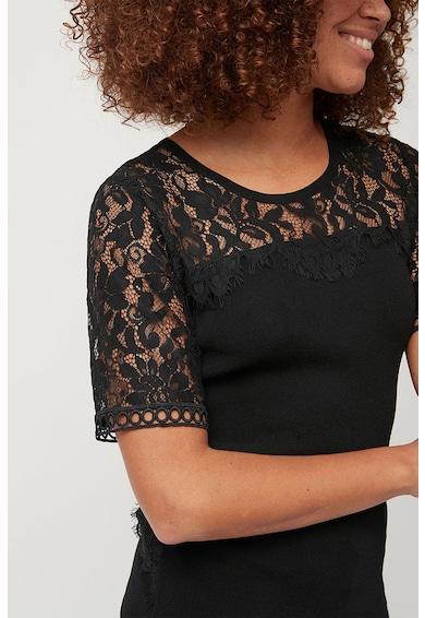 NEXT Bluza cu partea din spate din dantela Femei